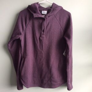 Columbia Hooded Sweatshirt, Medium